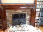 Picture Frame Fireplace Surround
