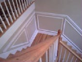 Chair Railing and Wall Frames
