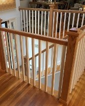 Wooden Railings and Stairs